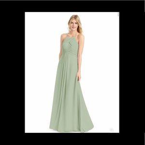 Azazie Bridesmaid Dress - GINGER in Dusty Sage